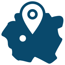 Counties Location Icon